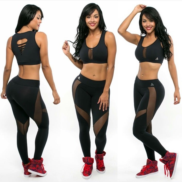 Image of Flirty Mesh Leggings