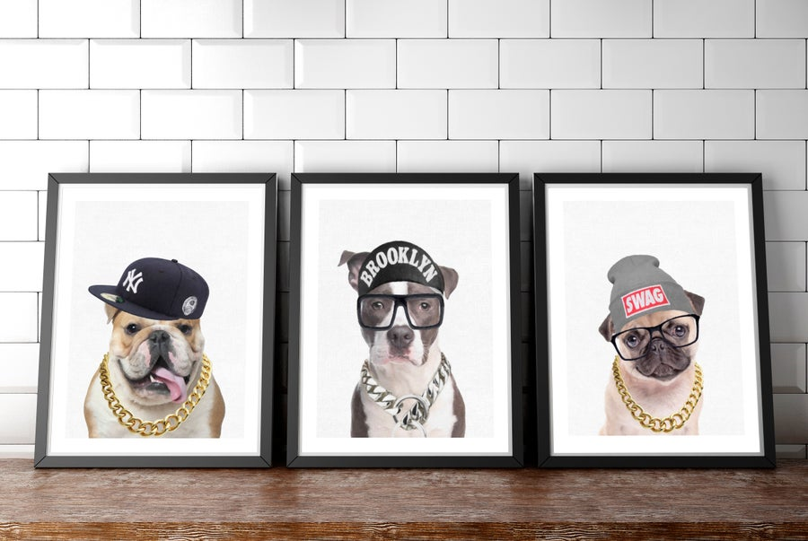 Image of Dog Swag - set of 3 - A3