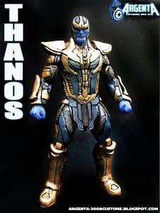 "Image of Thanos Avengers Hot Toys 8 "" Custom figure"
