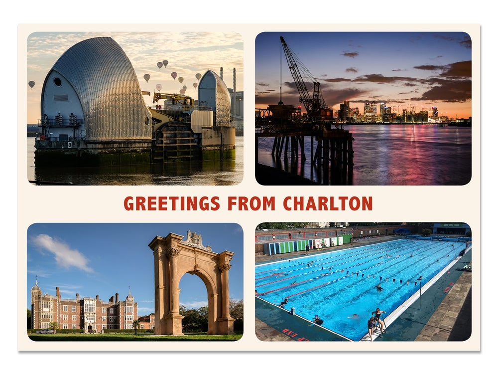 Image of 'Greetings from Charlton' Postcard