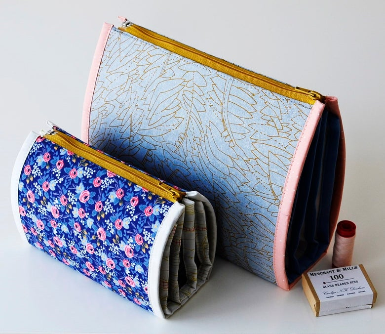 Image of Booklet Pouch PAPER pattern