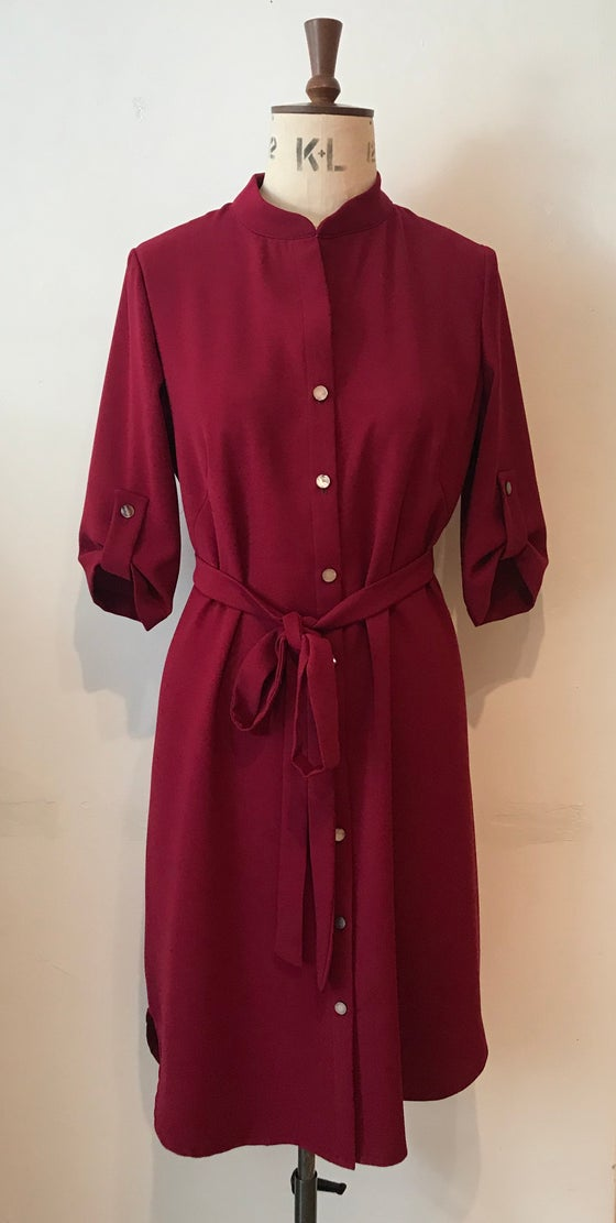 Image of Studio shirt dress