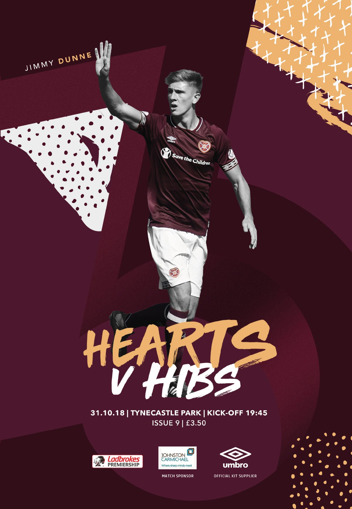 Image of Hearts v Hibs, 31st October 2018