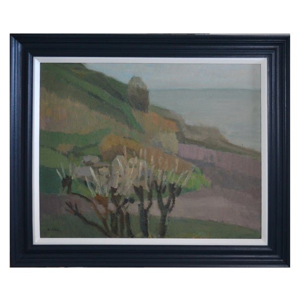 Image of Mid-century landscape 'early spring' Gertrud de val Liner (1899 - 1993)