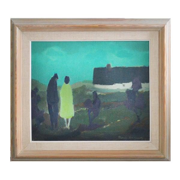 Image of  Mid-century Landscape, 'Homeward Bound' Fabian Lundqvist (1913–1989)