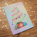 Image of Cute Tree Christmas Card