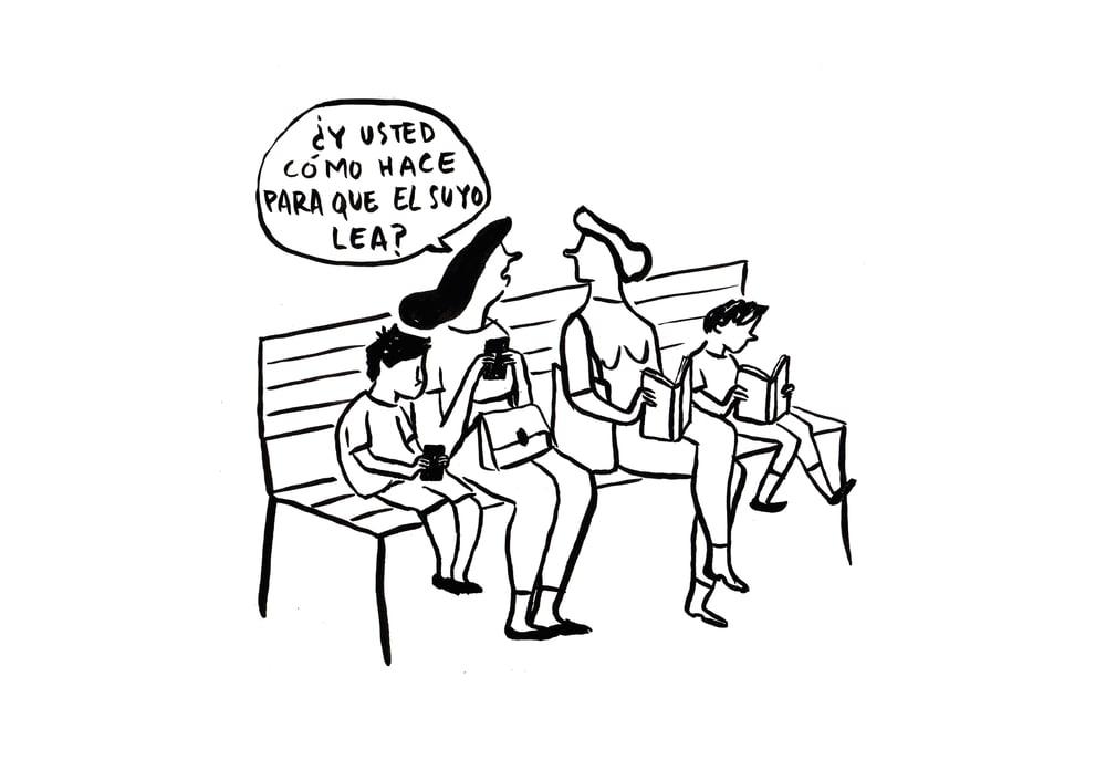 """Image of Print """"Educación literaria"""""""