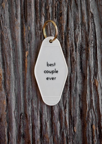 Image of best couple ever keytag