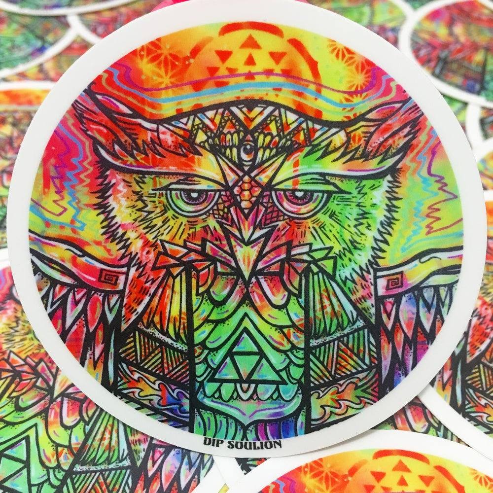 Image of Spirit Owl sticker