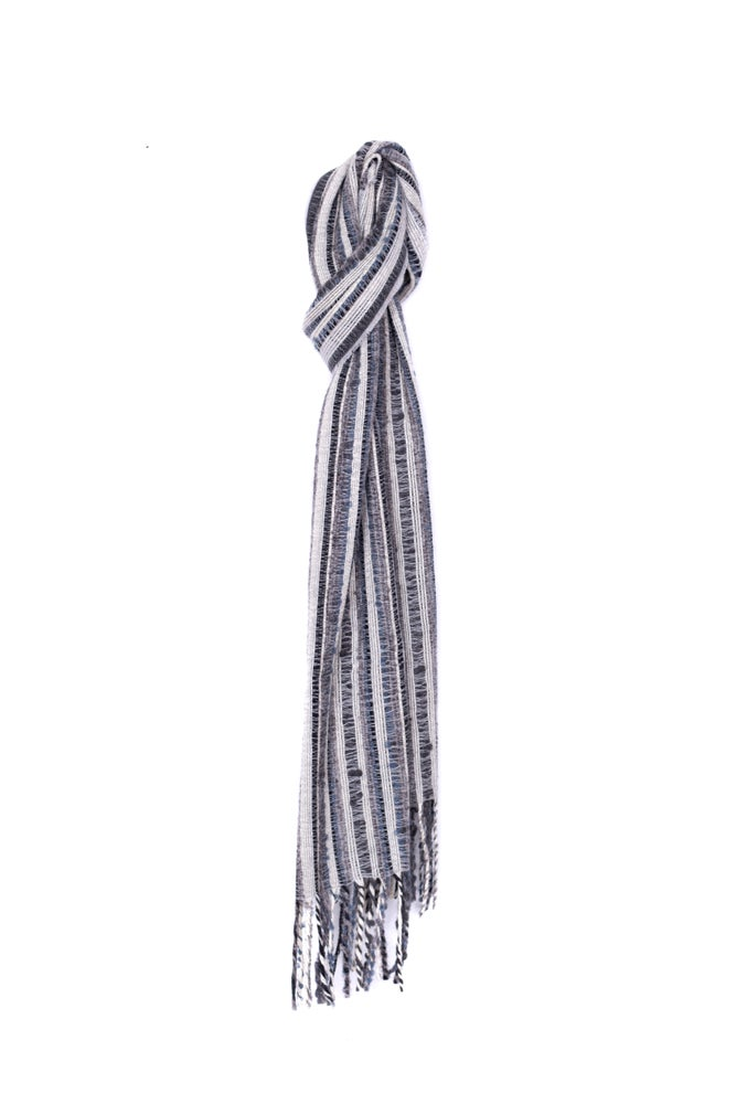 Image of Piedra Scarf - grey /white