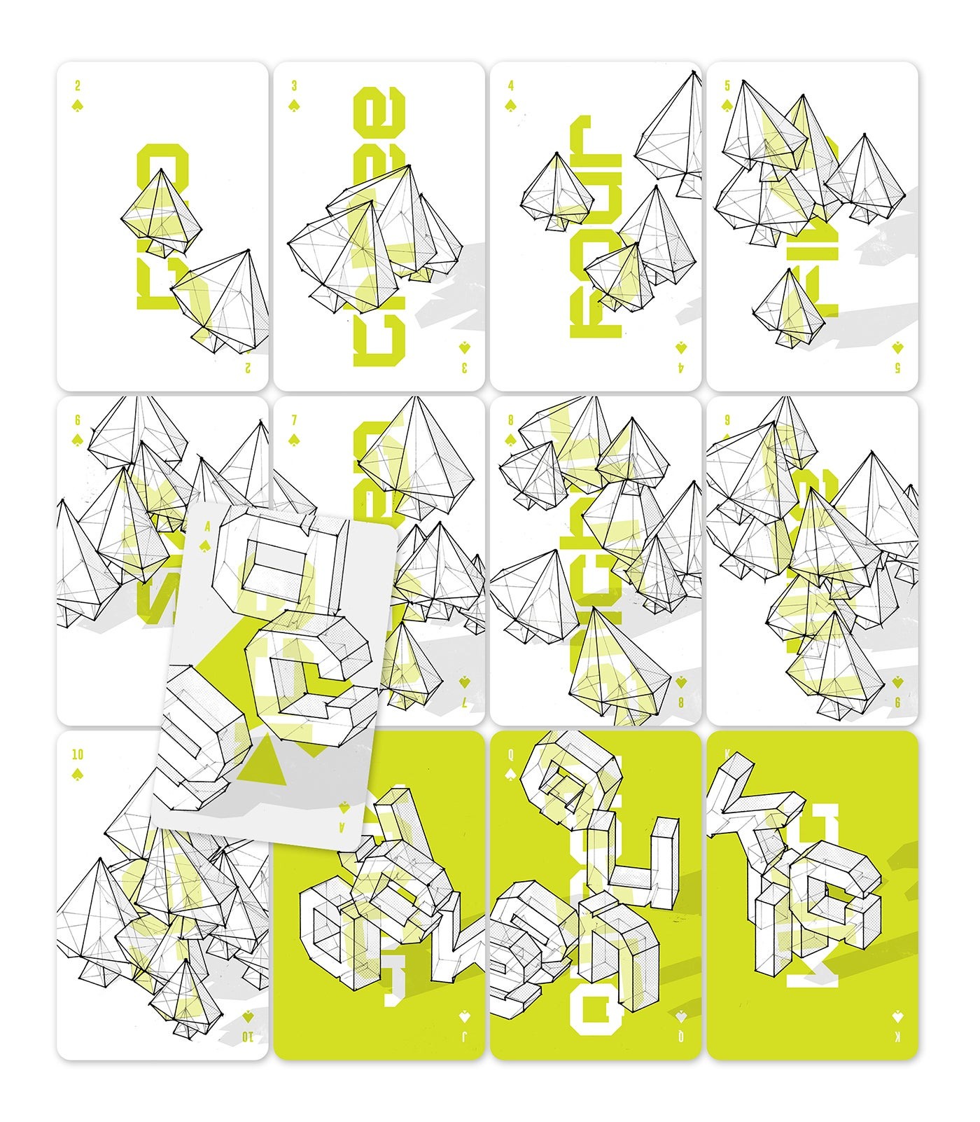 Image of Geometric Playing Cards