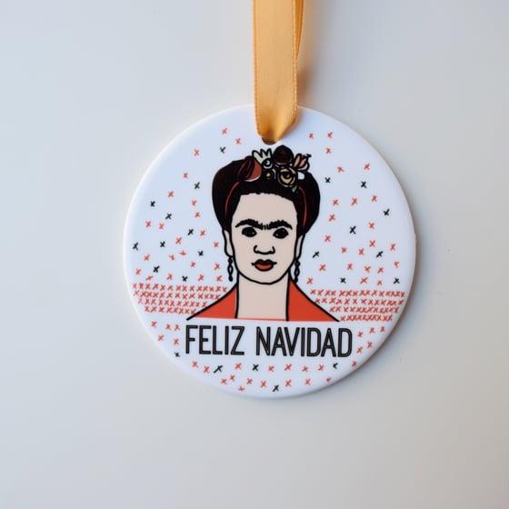 Image of FELIZ NAVIDAD ornament