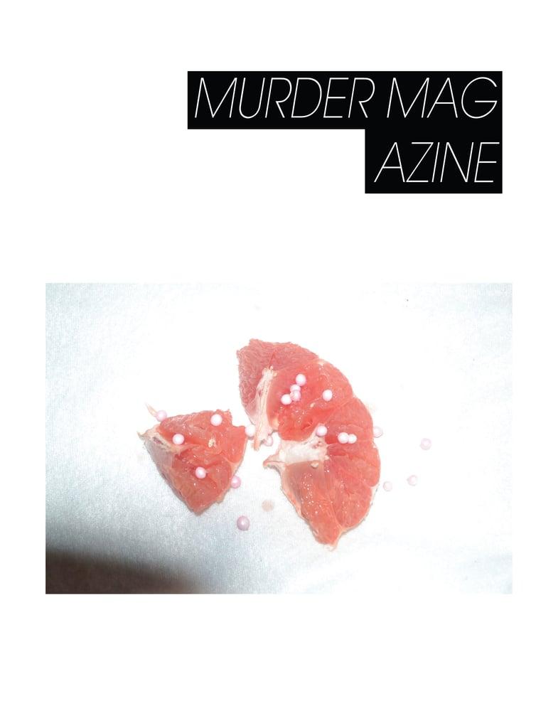 Image of MURDER MAGAZINE NO. 1