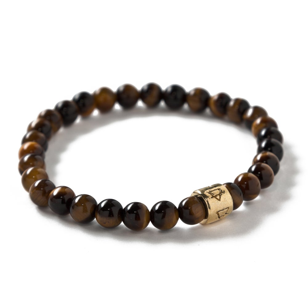 Image of Thin Tigers Eye Signature beads