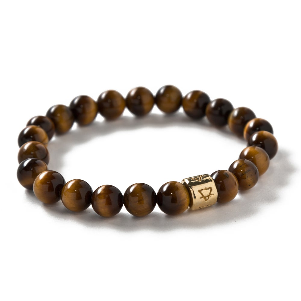 Image of Thick Tigers Eye Signature beads