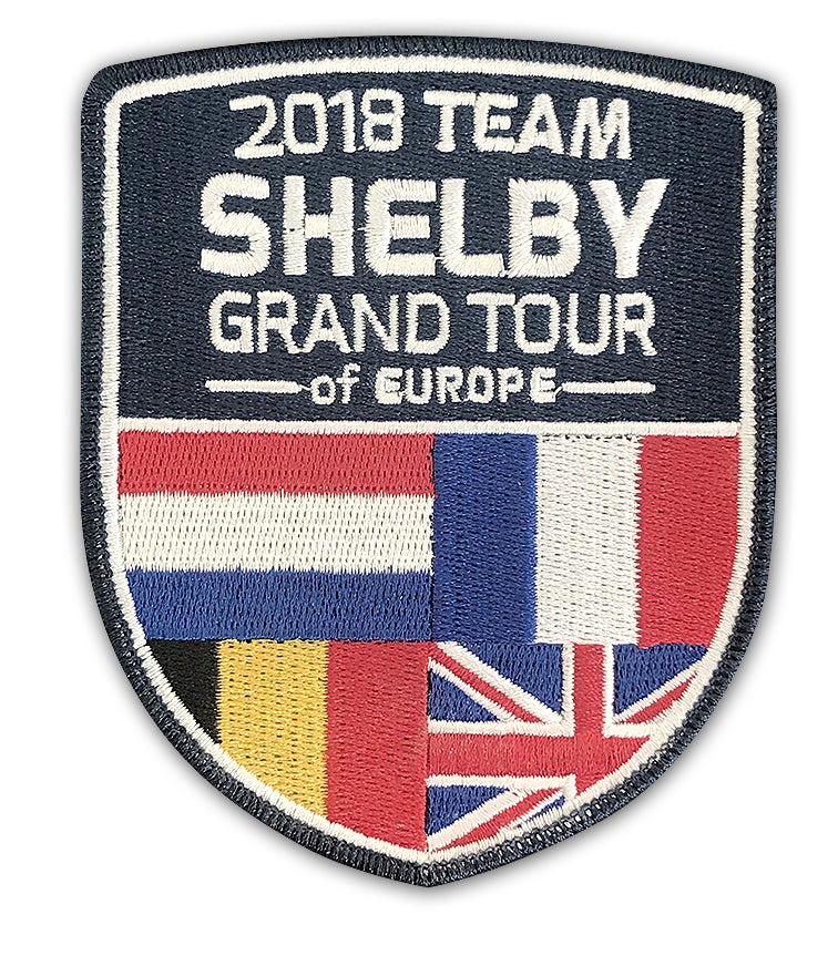 Image of 2018 Team Shelby Grand Tour Patch (Patch Only)