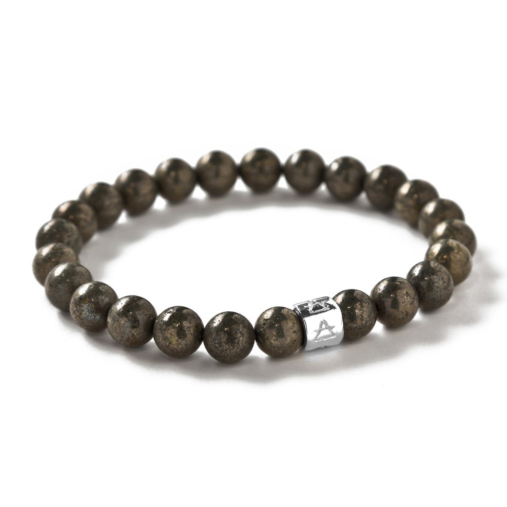 Image of Pyrite Signature beads
