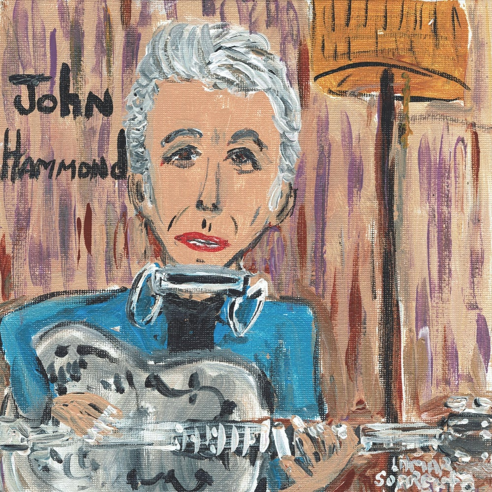 """Image of John Hammond - You Know That's Cold b/w Come To Find Out (Translucent Blue 7"""" Single)"""