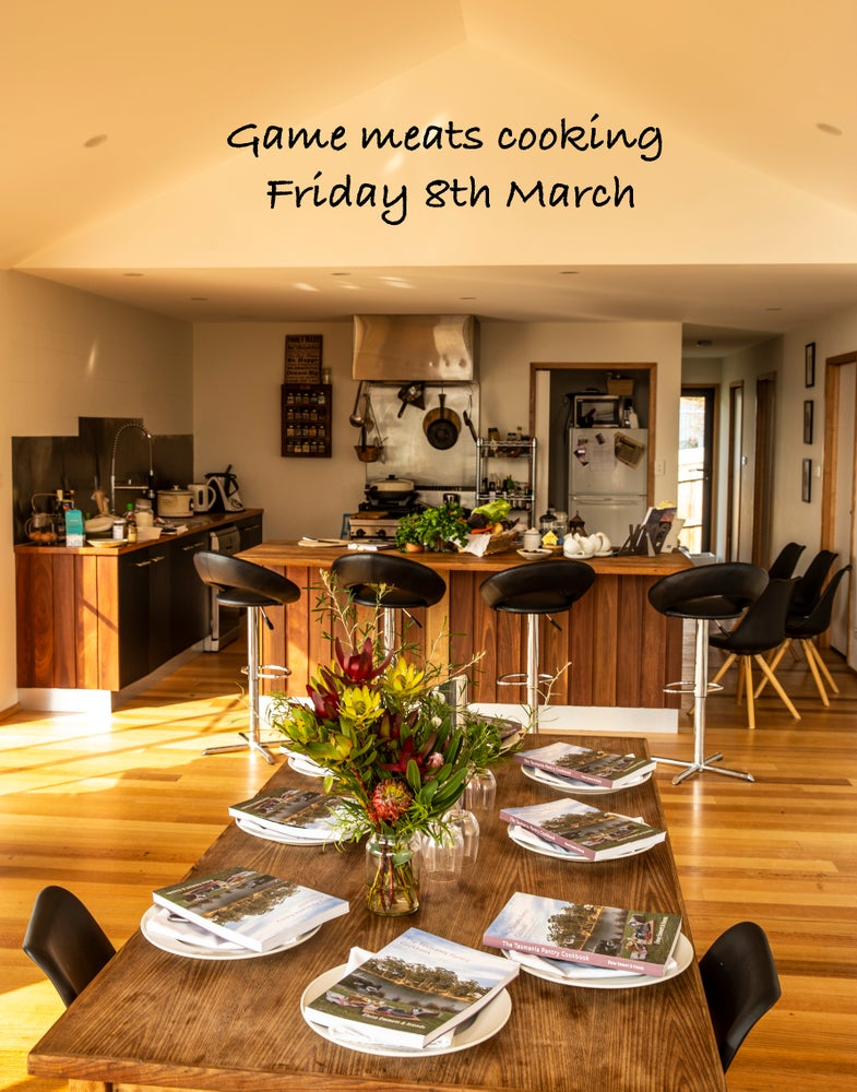 Image of Tasman game cooking workshop Friday 8th March