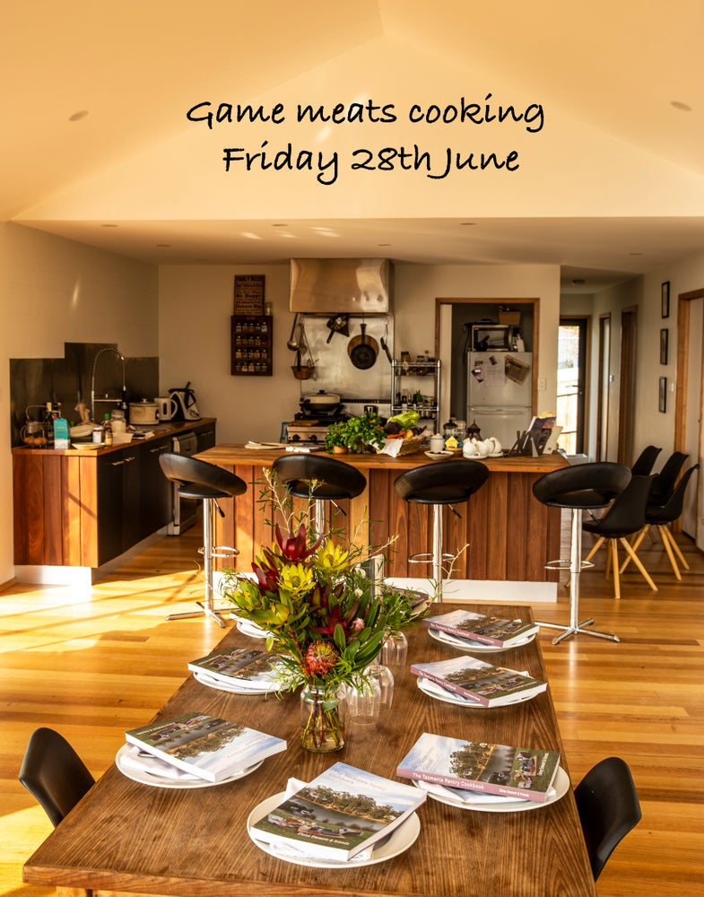 Image of Tasman Game meats cooking Friday 28th June