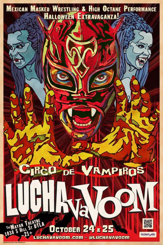 """Image of Halloween 2018 """"Circo de Vampiros"""" poster"""