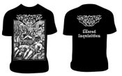 Image of EXCORIATION Sacred Inquisition T-shirt/Hoodie/Zip-Hoodie