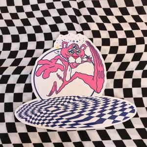 Image of Pink Lightning sticker pack