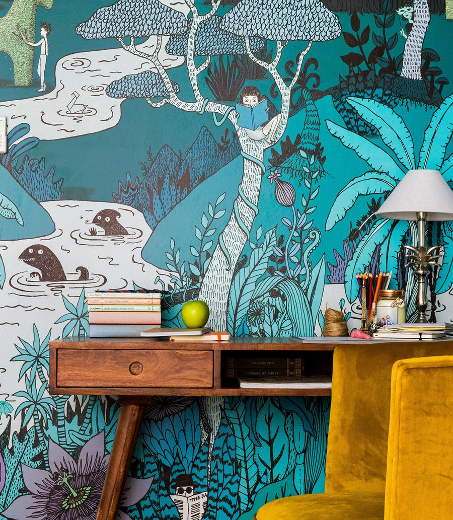 Image of Whimsical Wallpaper