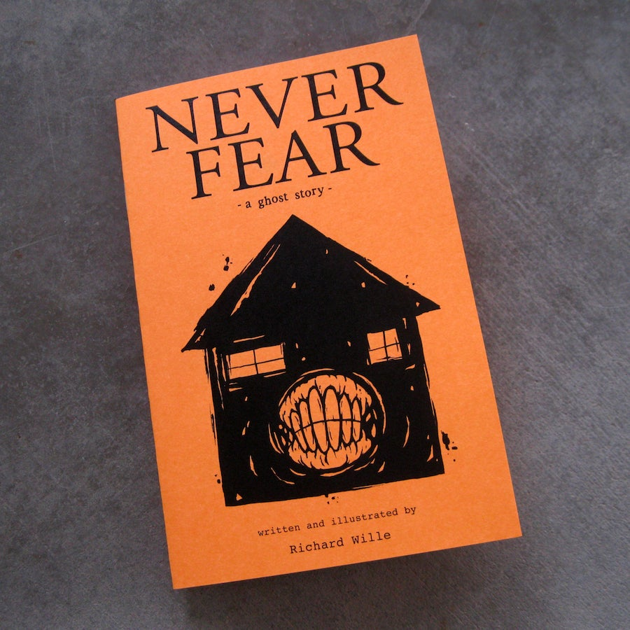 Image of Never Fear - book (2nd printing)