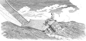Image of Breezing Up- Letterpress Print