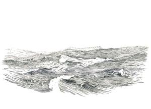 Image of The Big Sea 2- Letterpress Print