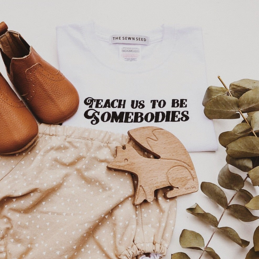 Image of Teach Us Toddler + Childrens Tee