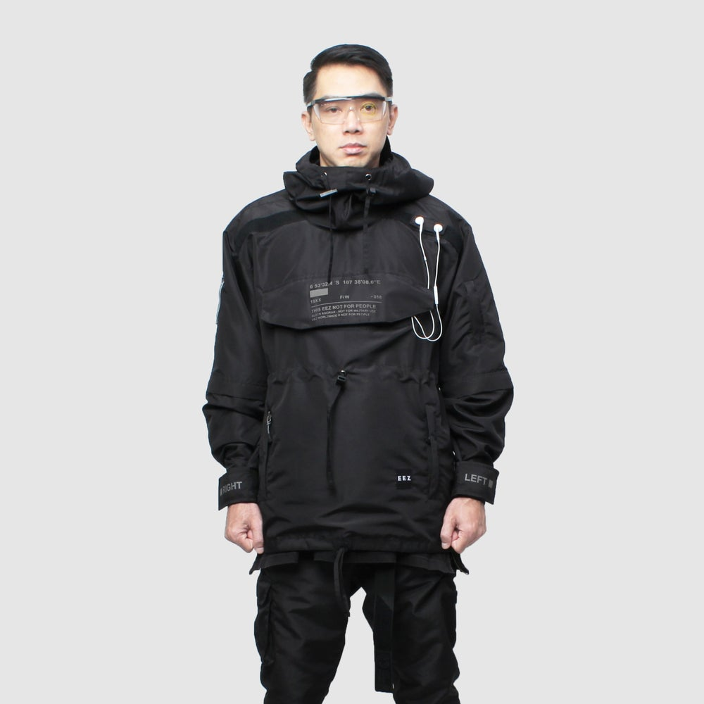 Image of EEZ x NFP BLCK Anorak Jacket