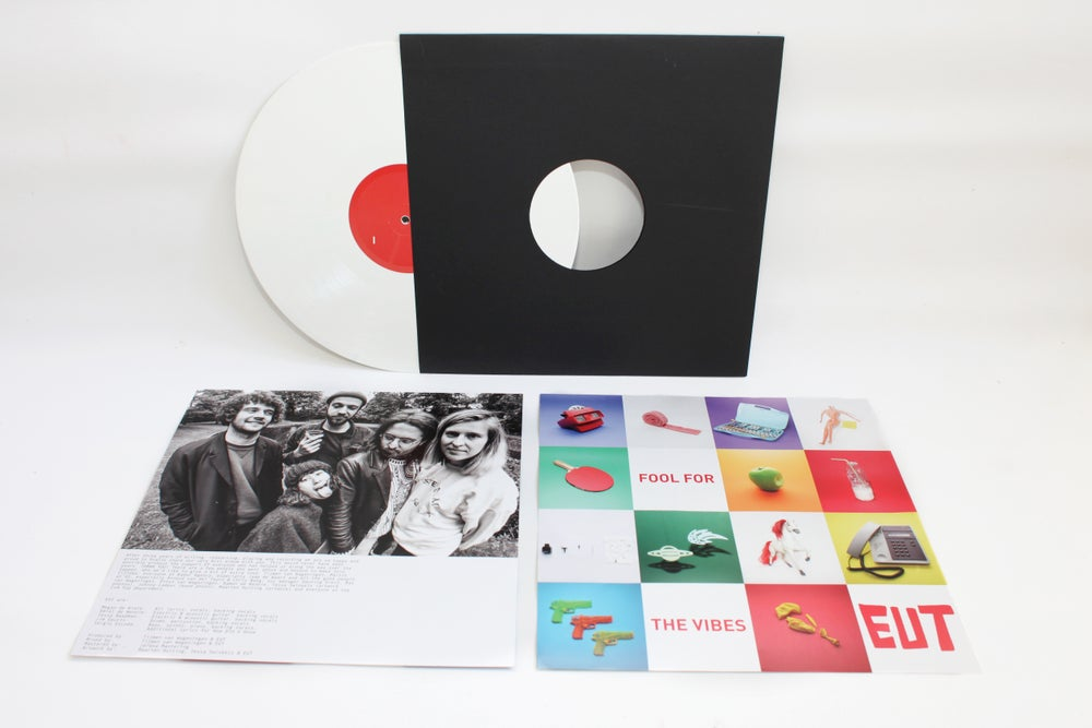 "Image of Fool For The Vibes LP - 12"" white vinyl"