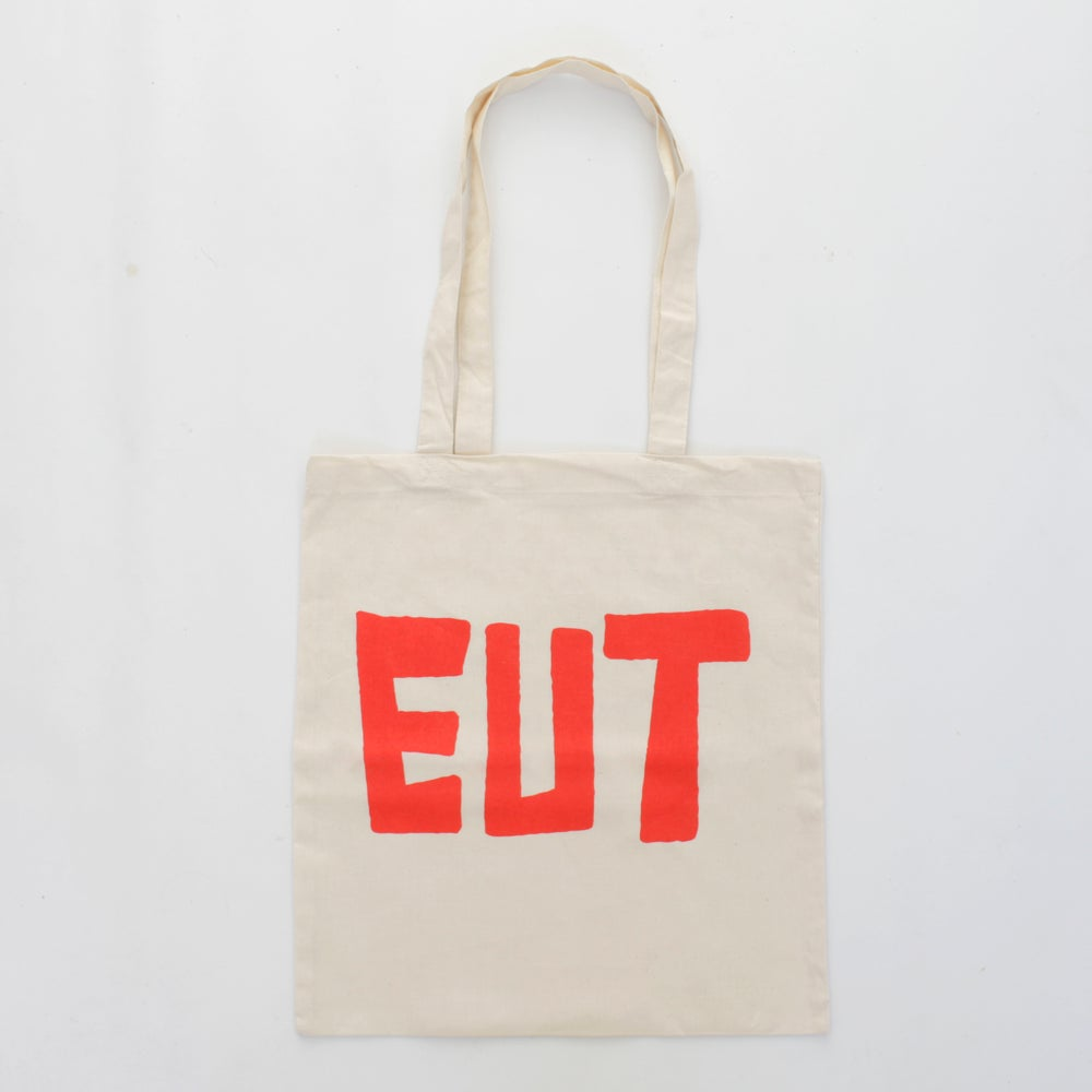 Image of EUT logo tote bag