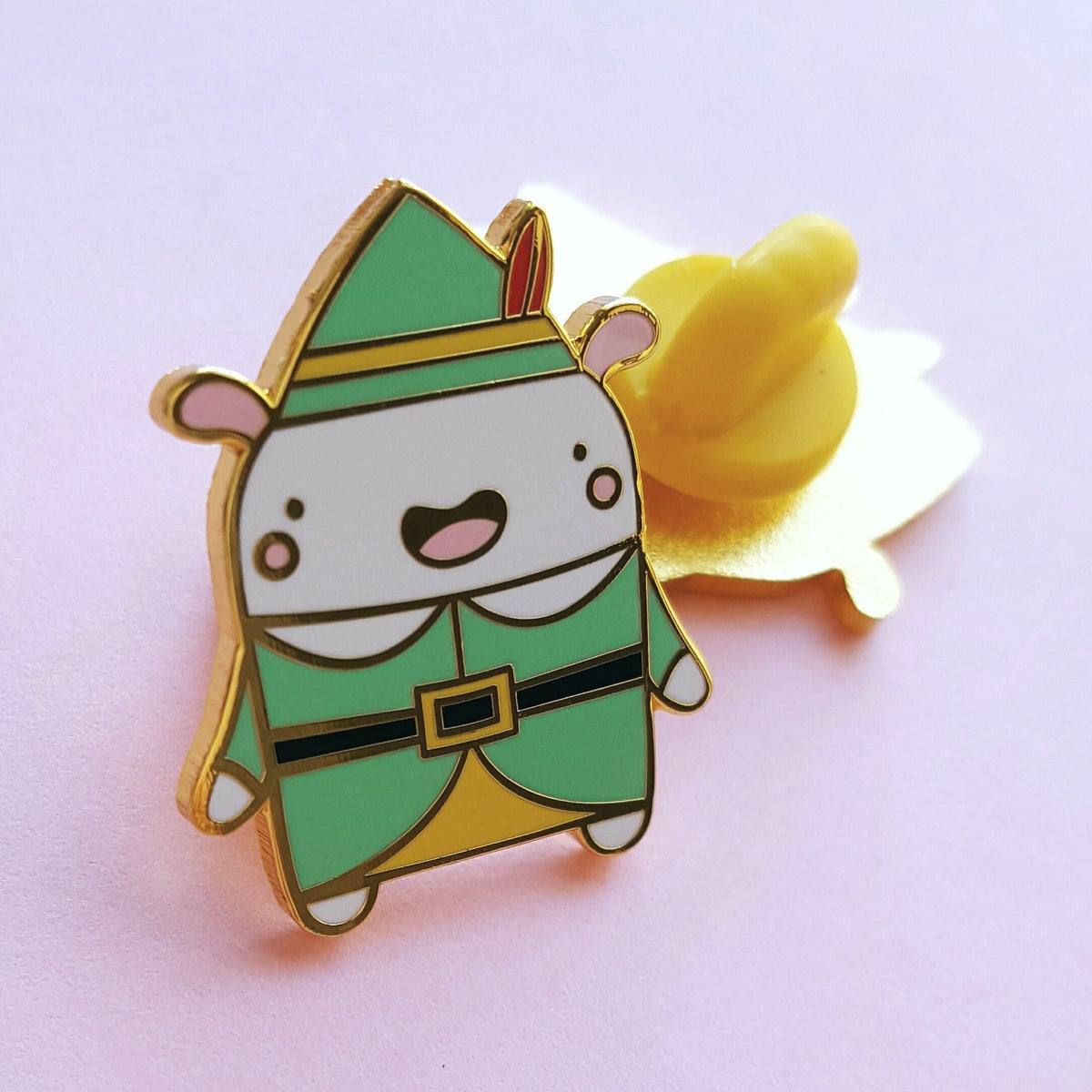 Buddy the Christmas Elf Critter - Hard Enamel Pin