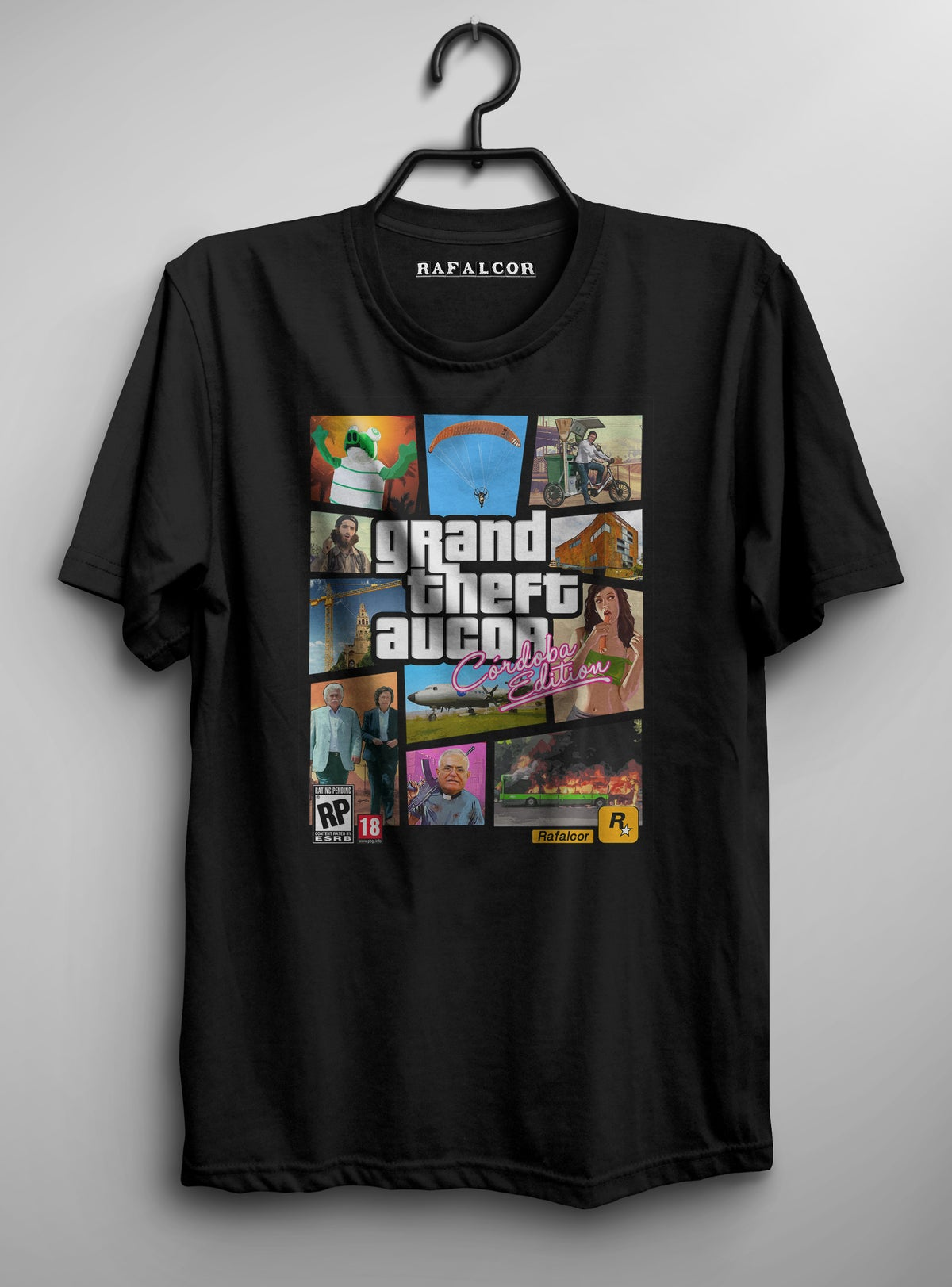 Image of GTA AUCOR - camiseta