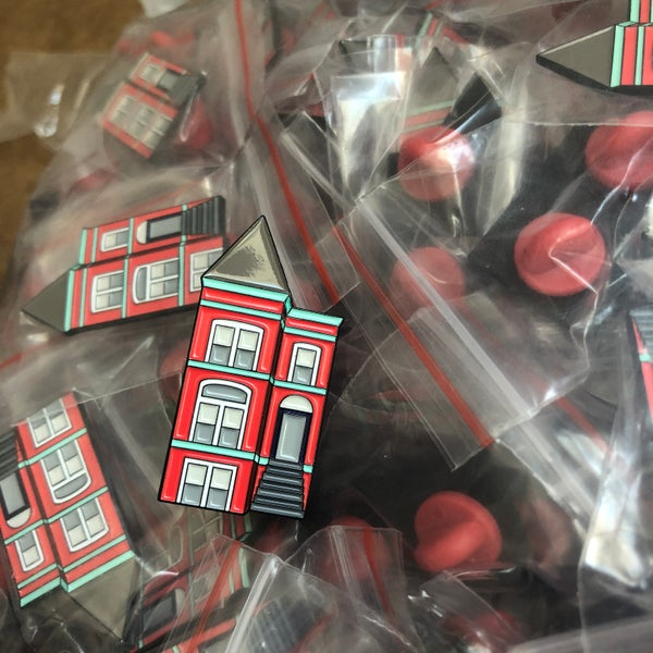 Image of DC Rowhouse Pin