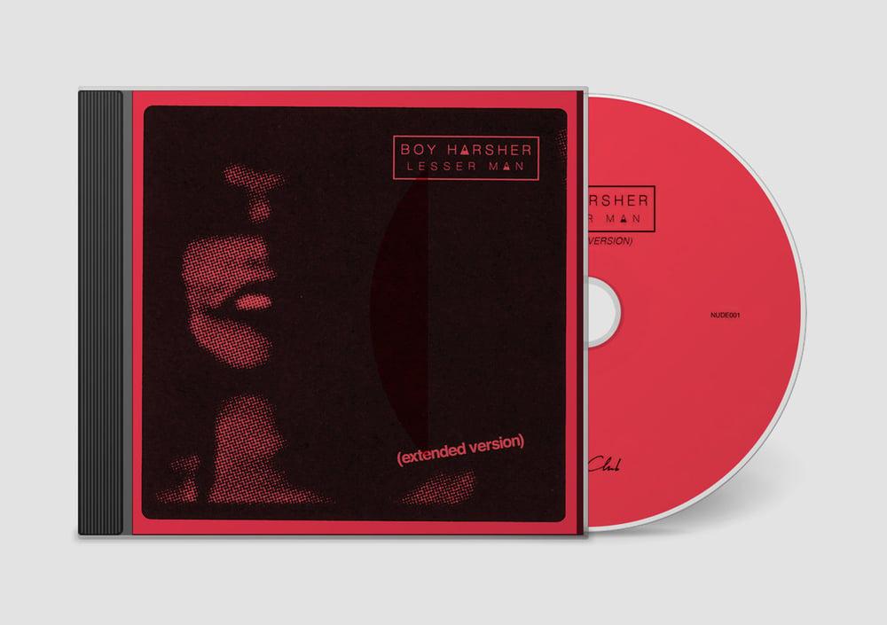 Image of 'Lesser Man (extended version)' CD