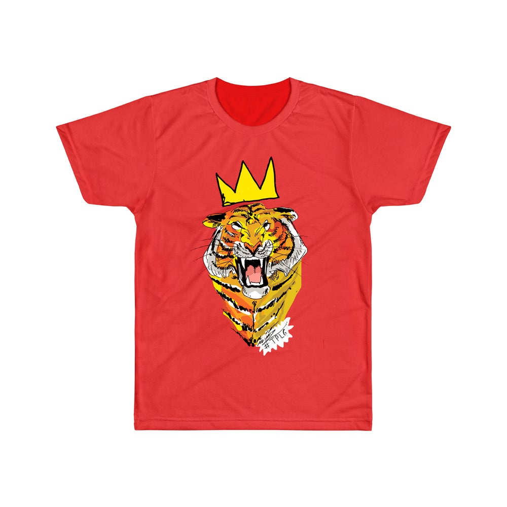 Image of T-shirt Tiger (Red)