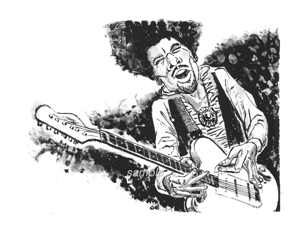 Image of Jimi Hendrix Portrait