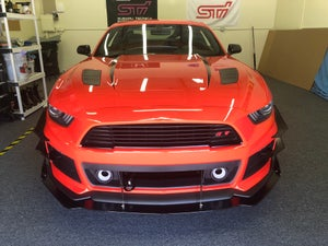 "Image of 2015-2017 Ford Mustang ""Roush edition"" dual Canards"