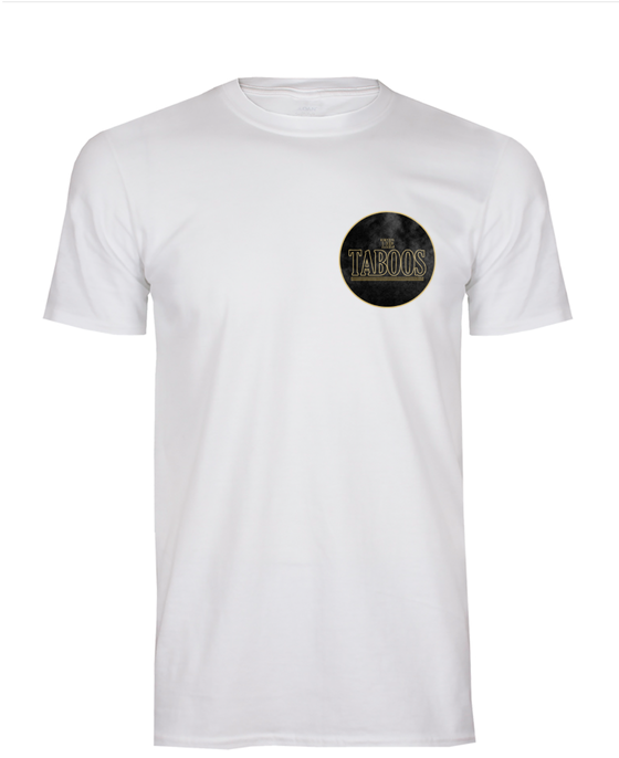 Image of The Taboos White T-Shirt