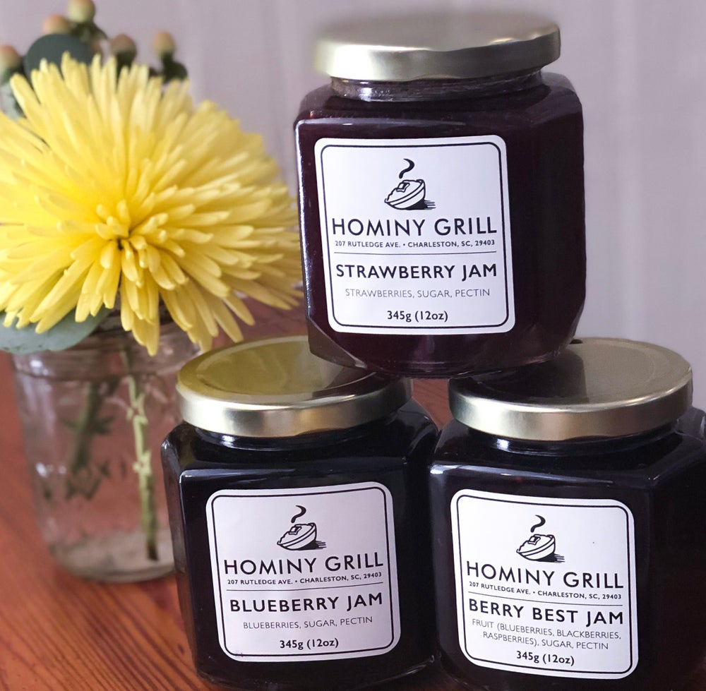 Image of Hominy Grill Jam - Strawberry