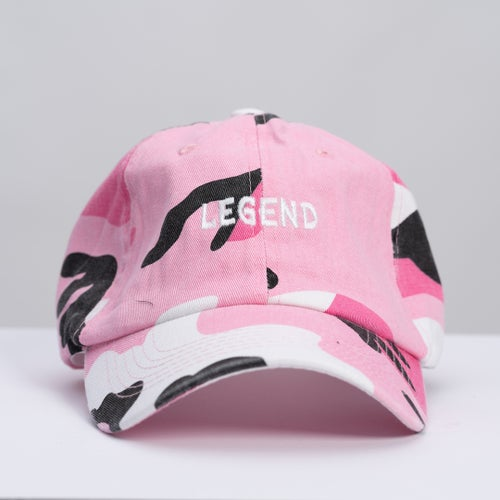 Image of LEGEND Hat - Pink Camo