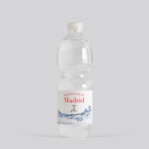 Image of Botella Agua de Grifo de Madrid