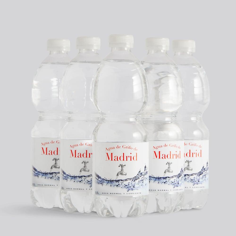 Image of Pack 5 Botellas Agua de Grifo de Madrid