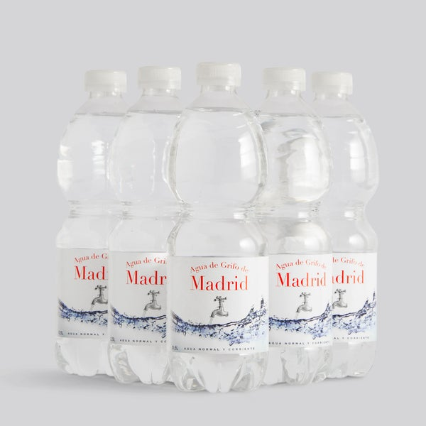 Image of Pack 5 Botellas Agua de Grifo de Madrid
