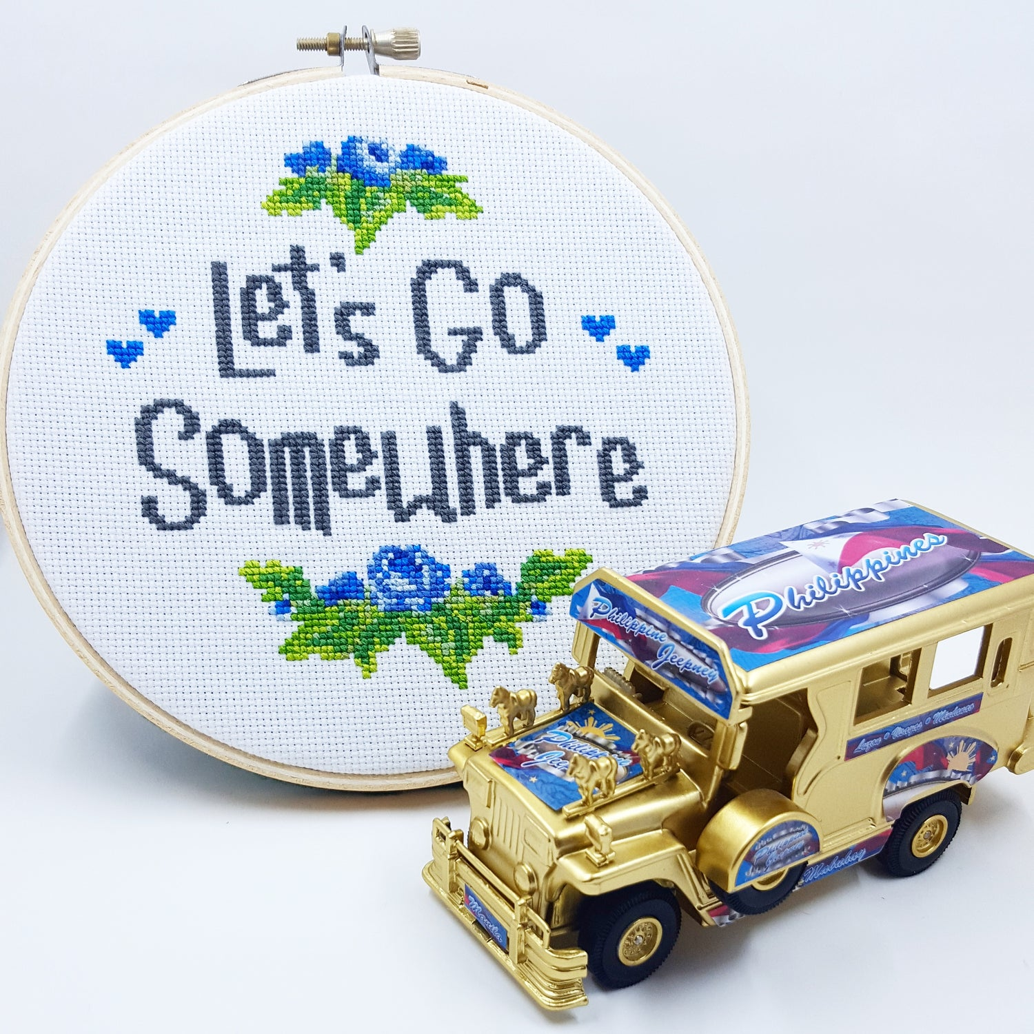 Image of Let's Go Somewhere PATTERN PDF