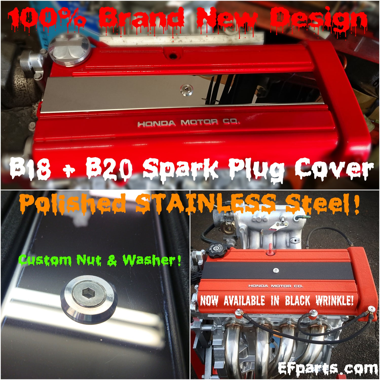Image of B18 B20 LS  Valve / Spark Plug Cover Honda Acura